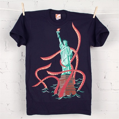 Squid Liberty Gamma Go t-shirt