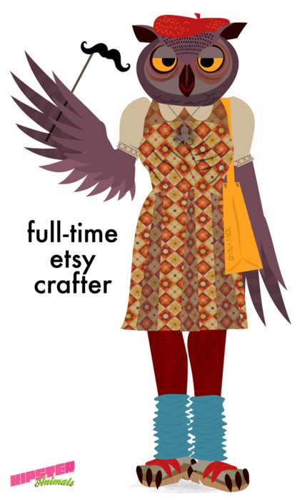 Full Time Etsy Crafter