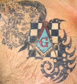 masonic tattoo