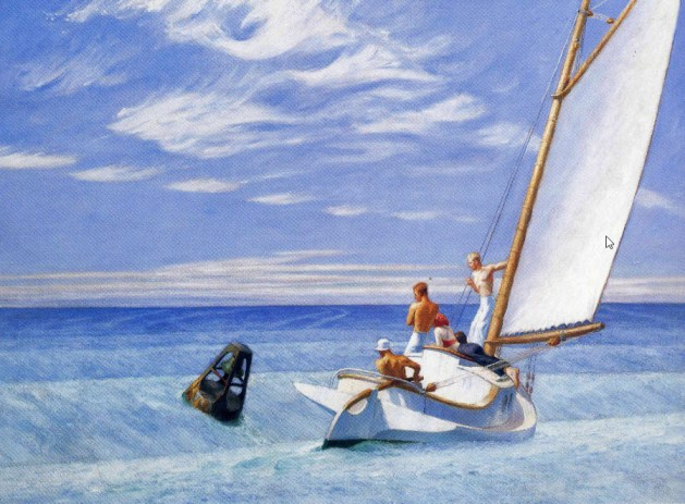 Edward Hopper - Ground Swell - 1939