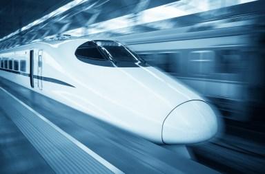 High speed train gaotie 高铁