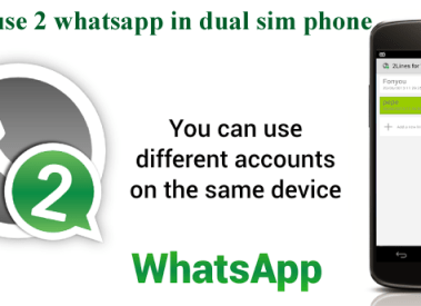 Dual Whatsapp Account in One Android Phone
