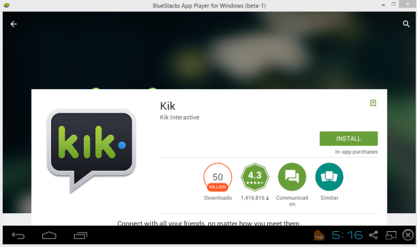 kik messanger free download for pc