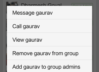 How to make multiple Whatsapp group admin or change admin?