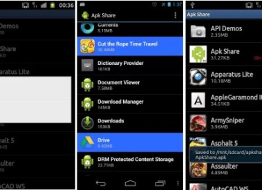 How to Convert Install Android App to APK and Share it