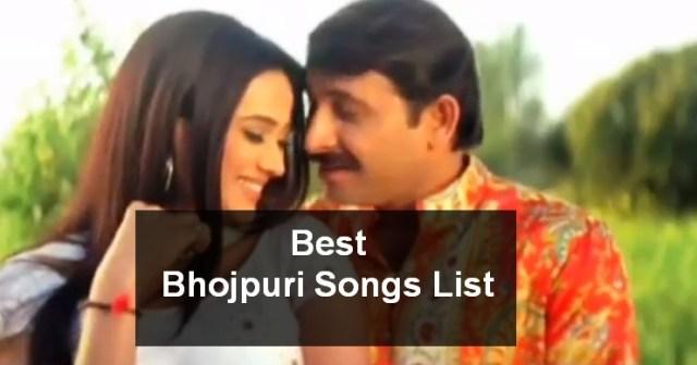 best bhojpuri songs list