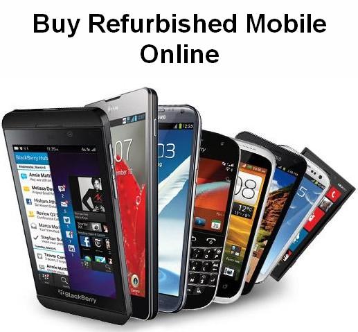 buy refurbished mobile online in India