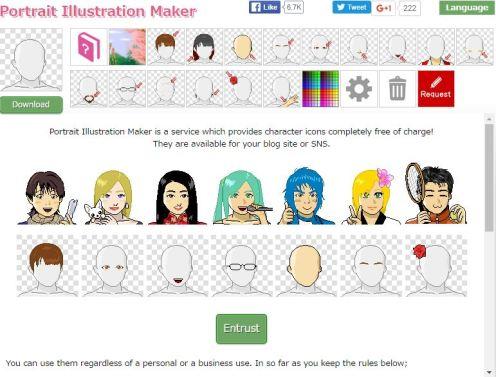 Portrait Illustration Maker