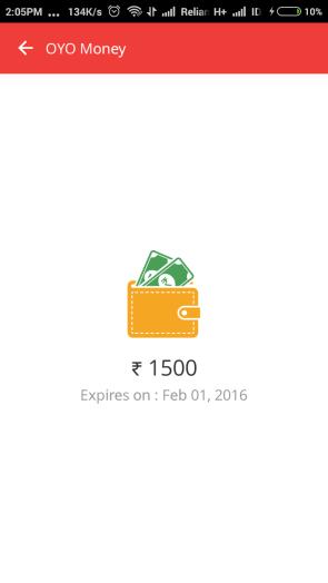oyo free money