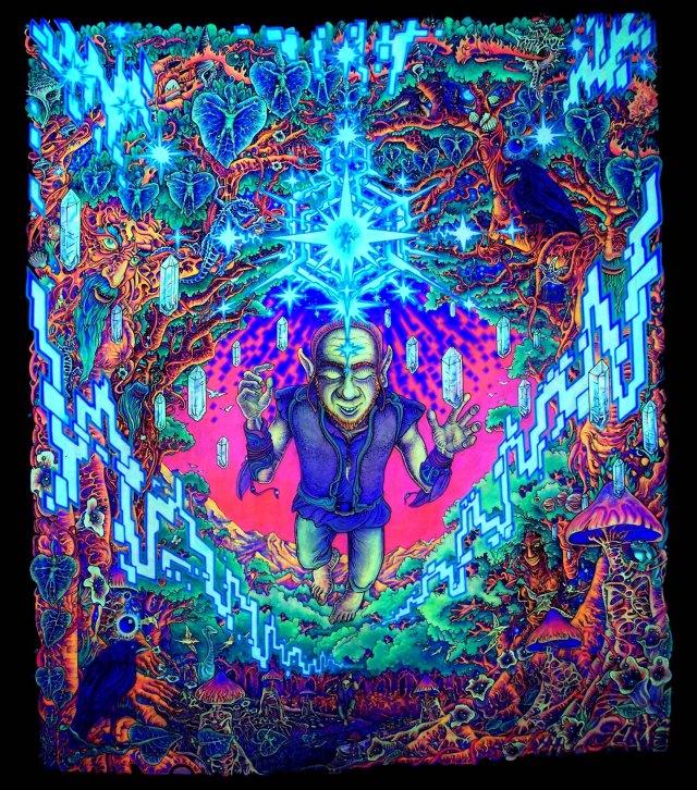 psychedelic wallpaper in treanding