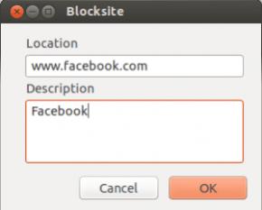 block site on mozilla