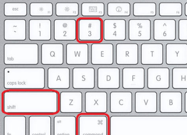 How to take Print Screen (Screenshots) on MAC OS X