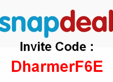 Snapdeal Invite Code (PuneetSDN) Get Rs 200 per Referral December 2016