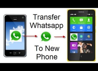 whatsapp data transfer