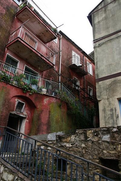 Contursi Terme terraces
