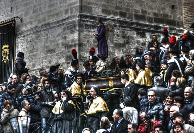 First station of the cross, Chieti procession