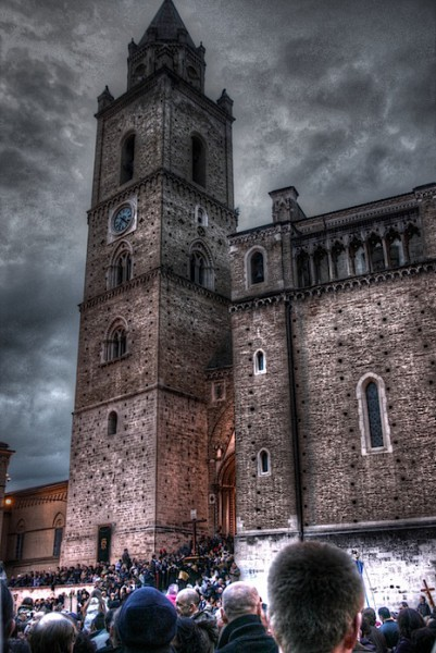 The Chieti cathedral