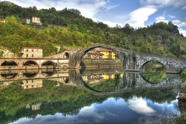 Ponte Diablo in Borgo a Mozzano