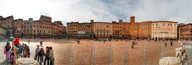 Siena Piazza, HDR