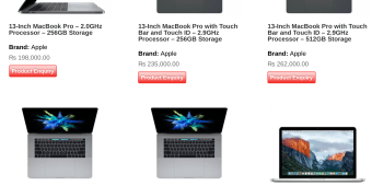 Macbook Pro with Touch Bar officially available in Nepal