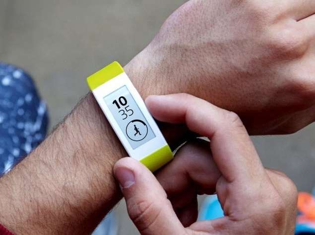 sony smartband talk yellow