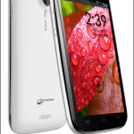 Micromax A116 Canvas HD Quad Core Android Phablet Phone Announced