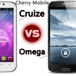Cherry Mobile Omega vs Cruize Specs, Features Comparison
