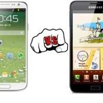 Samsung Galaxy S4 vs Samsung Galaxy Note Specs, Features Comparison