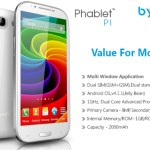Byond Phablet P1 with 5.3-Inch Android 4.1.1 Jelly Bean Phone Launched