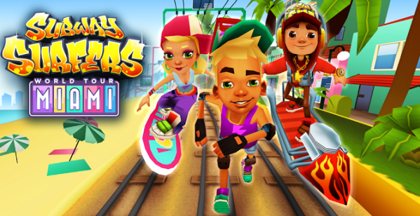Subway Surfer Miami world tour