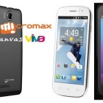 Micromax Canvas Viva A72 vs Byond B 67 vs Spice Smart Flo Pace 2 Comparison