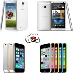 Samsung Galaxy S4 vs HTC One vs iPhone 5S vs iPhone 5C – Comparison