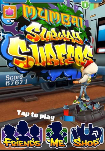 Subway Surfers Mumbai