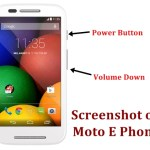 Motorola Moto E Screenshot Taking Guide – Snapshot[How to]