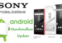 Sony Android Marshmallow Update
