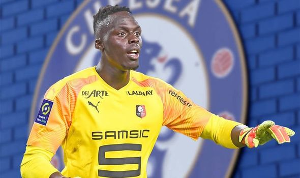 Chelsea 'far from' agreement for Edouard Mendy, say Rennes