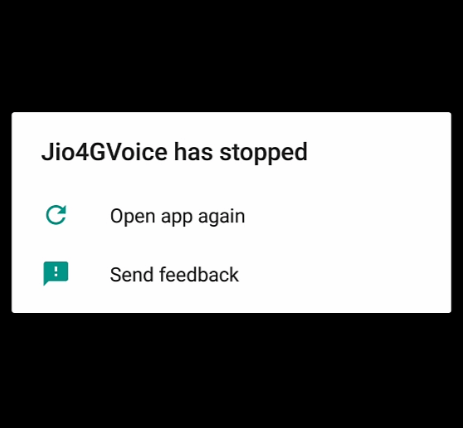 Jio4GVoice-app-closing-issue-solved