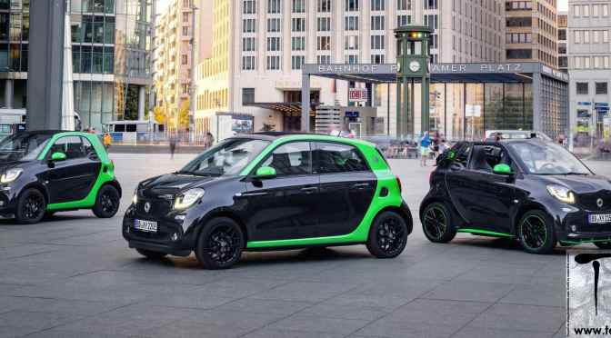 Paris Motor Show: Electrification of all 'smart' models