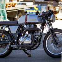 Turbo boosted Royal Enfield Continental GT