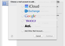 Apple Mail Accounts Preferences