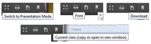 Firefox PDF Viewer Options