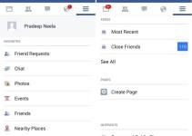 Facebook App - Recent Posts