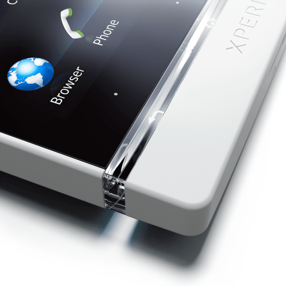 Xperia S white Sony Xperia S: Watching videos is as good as HD TV [Review]