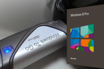 Windows8 pro to go USB