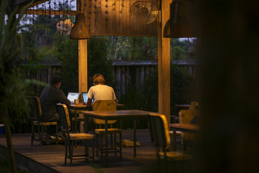 Hubud, a co-working space in Bali