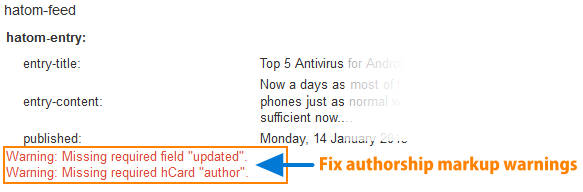 fix authorship markup warnings 300x98 Fix Google Authorship Markup Warnings for Blogger