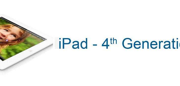 Apple announces 4th generation iPad, discontinues 3rd generation iPad