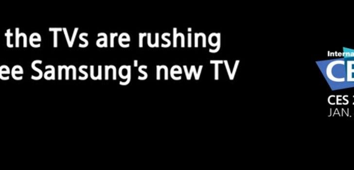 Samsung to showcase its 'unprecedented' TV design at CES 2013, releases TV teaser
