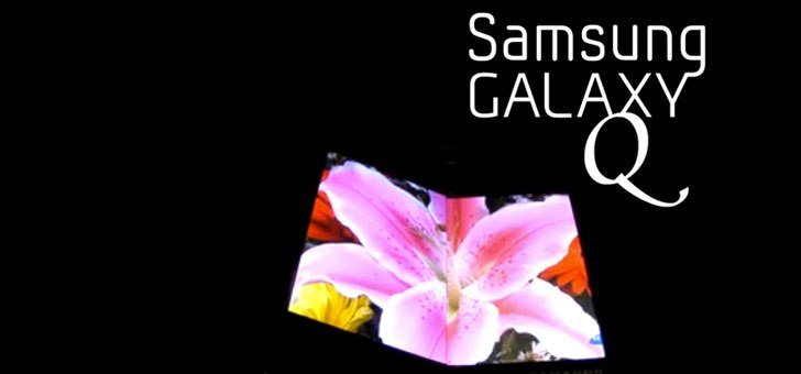 Will Samsung unveil Galaxy Q GT-B9150, a foldable smartphone at WMC 2013?