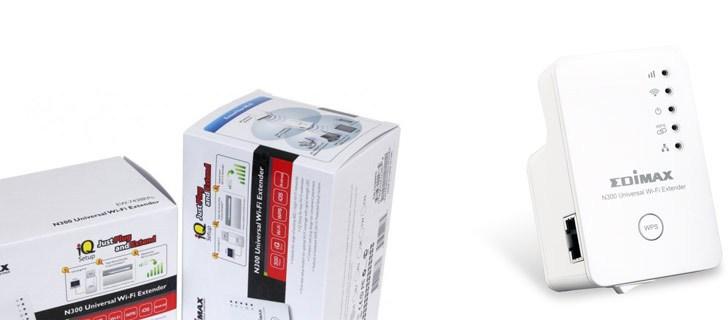 Boost your Wi-Fi signal with Edimax EW-7238RPD N300+ Dual-Band Wi-Fi Extender